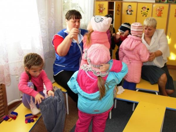 Персонал детского садика