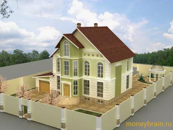 Строительство частного дома в ипотеку