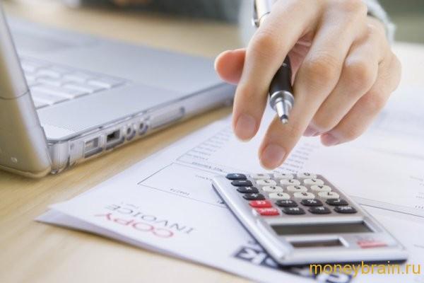Формула расчета процентов по вкладам