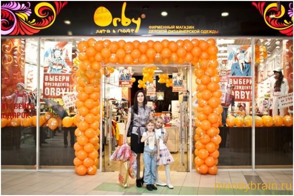 Франшиза детского магазина одежды