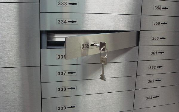 использование банковской ячейки