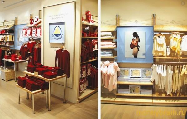 магазин франшиза детской одежды
