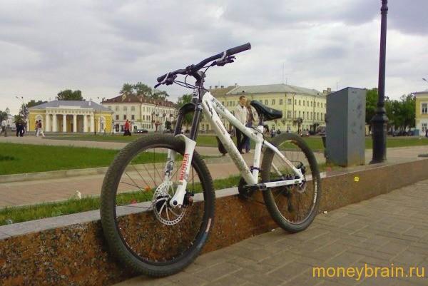 меняем машину на велосипед