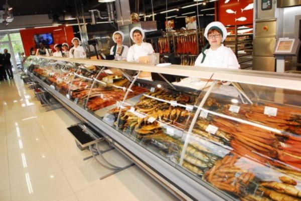 открытие рыбного магазина