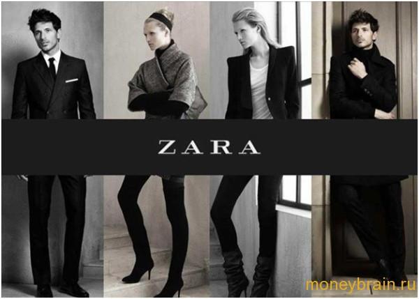 сколько стоит франшиза ZARA