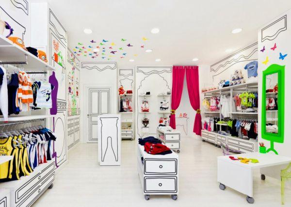 Оформление витрин детских магазинов
