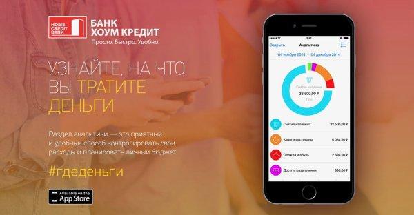 мобильный банк Хоум Кредит