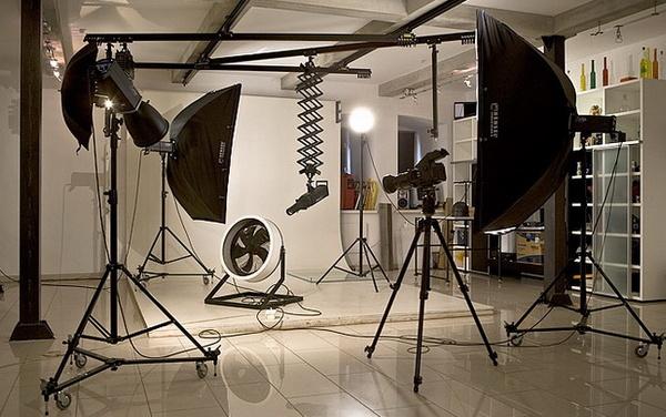 Затраты на персонал и оборудование для фотостудии