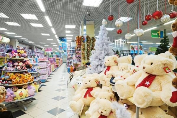 Открытие детского магазина