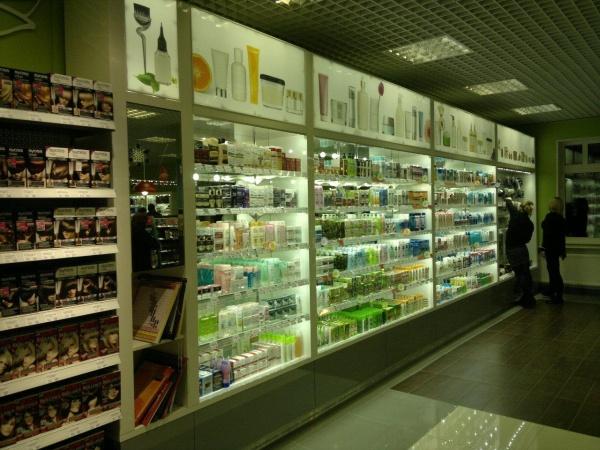 Открытие магазина косметики