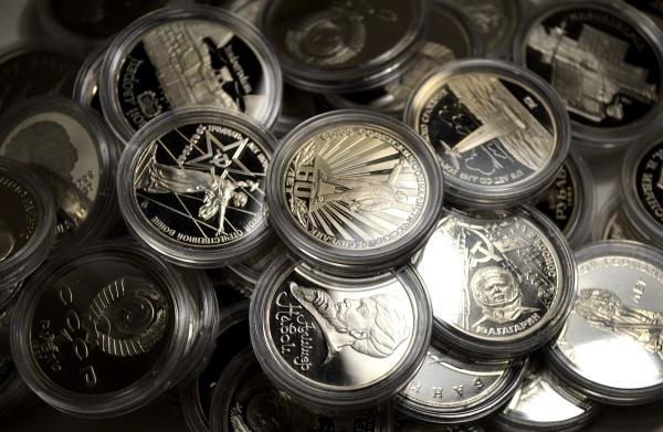 покупка серебрянных монет