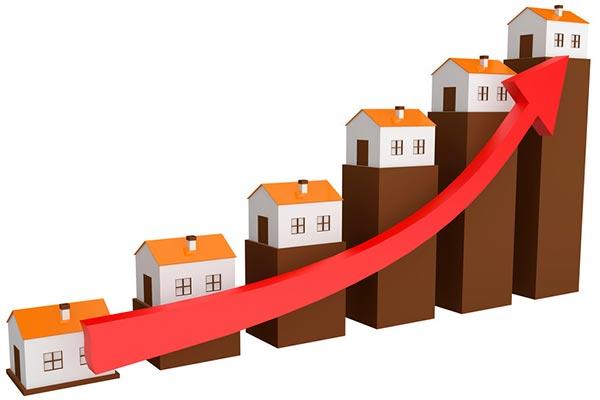темпы роста цен на недвижимость