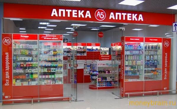 франшиза магазина аптеки