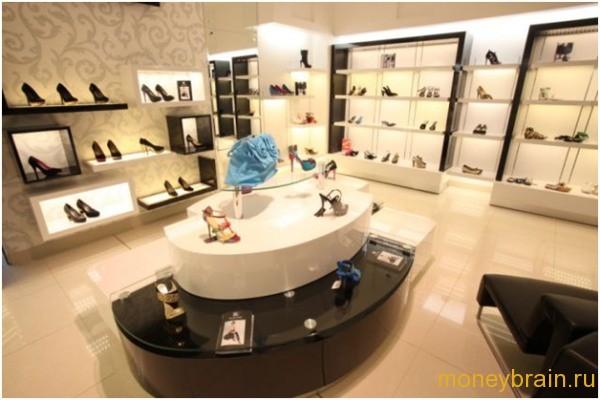 франшиза обувного магазина