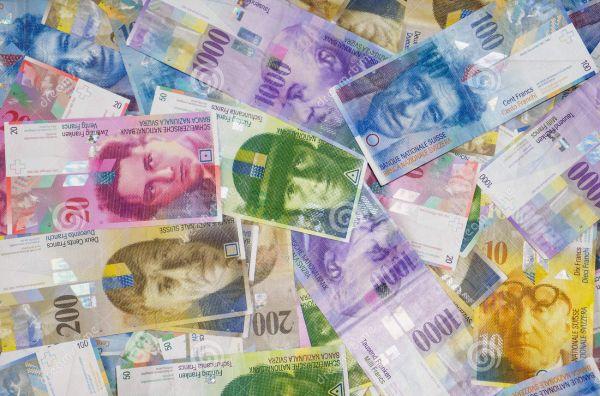 Юани и швейцарские франки