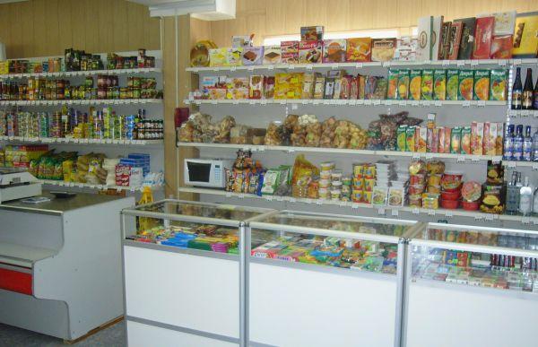 как оформить витрину продуктового магазина
