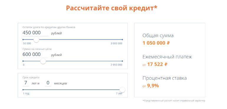 Рефинансирование кредитов других банков в Промсвязьбанке